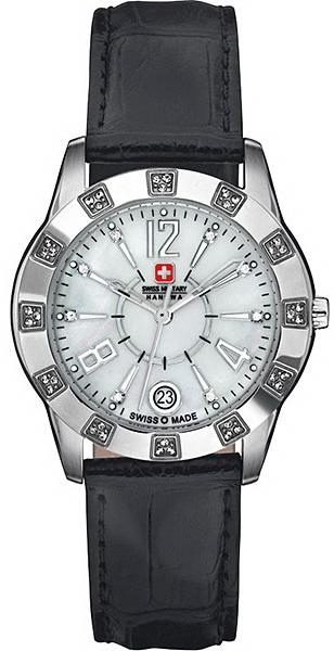 Hanowa Swiss Military Lady Line 06-6186.04.001Наручные часы<br>Швейцарские часы Hanowa Swiss Military Lady Line 06-6186.04.001<br><br>Для кого?: Женские<br>Страна-производитель: Швейцария<br>Механизм: Кварцевый<br>Материал корпуса: Сталь<br>Материал ремня/браслета: Кожа<br>Водозащита, диапазон: 20 - 100 м<br>Стекло: Сапфировое<br>Толщина корпуса: None<br>Стиль: Классика