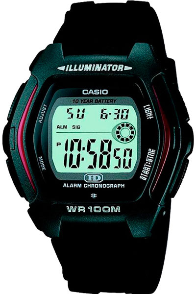 Купить Японские часы Casio HDD-600-1A