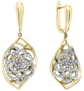 Серьги Mostar Jewellery HS0006-E
