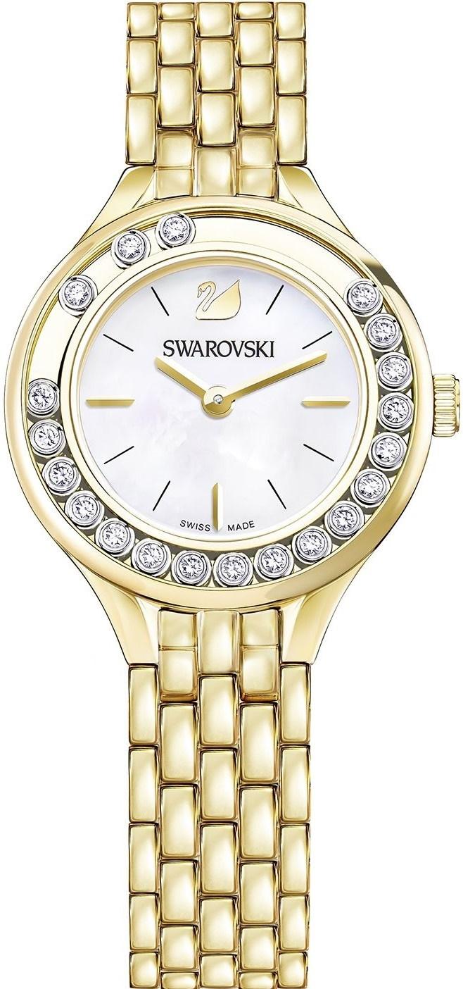 Swarovski Lovely Crystals Mini 5242895Наручные часы<br>Швейцарские часы Swarovski Lovely Crystals Mini 5242895<br><br>Пол: Женские<br>Страна-производитель: Швейцария<br>Механизм: Кварцевый<br>Материал корпуса: Сталь<br>Материал ремня/браслета: Сталь<br>Водозащита, диапазон: None<br>Стекло: Минеральное<br>Толщина корпуса: None<br>Стиль: None