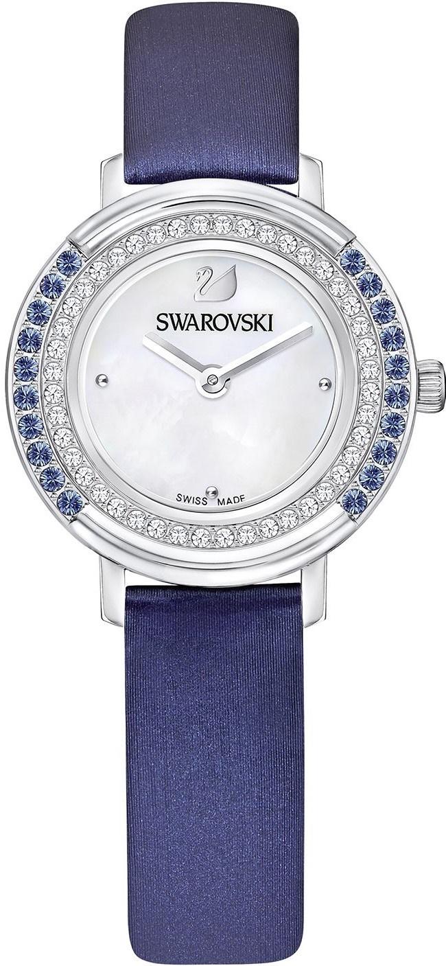 Swarovski Playful Mini 5243722Наручные часы<br>Швейцарские часы Swarovski Playful Mini 5243722<br><br>Пол: Женские<br>Страна-производитель: Швейцария<br>Механизм: Кварцевый<br>Материал корпуса: Сталь<br>Материал ремня/браслета: Кожа<br>Водозащита, диапазон: None<br>Стекло: Минеральное<br>Толщина корпуса: None<br>Стиль: None