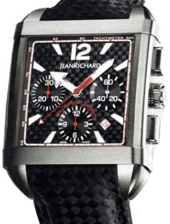 Jean Richard Paramount Square Chronograph JR 65118-21-S89-AE6D