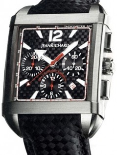 Jean Richard Paramount Square Chronograph JR 65118-21-S89-AE6D
