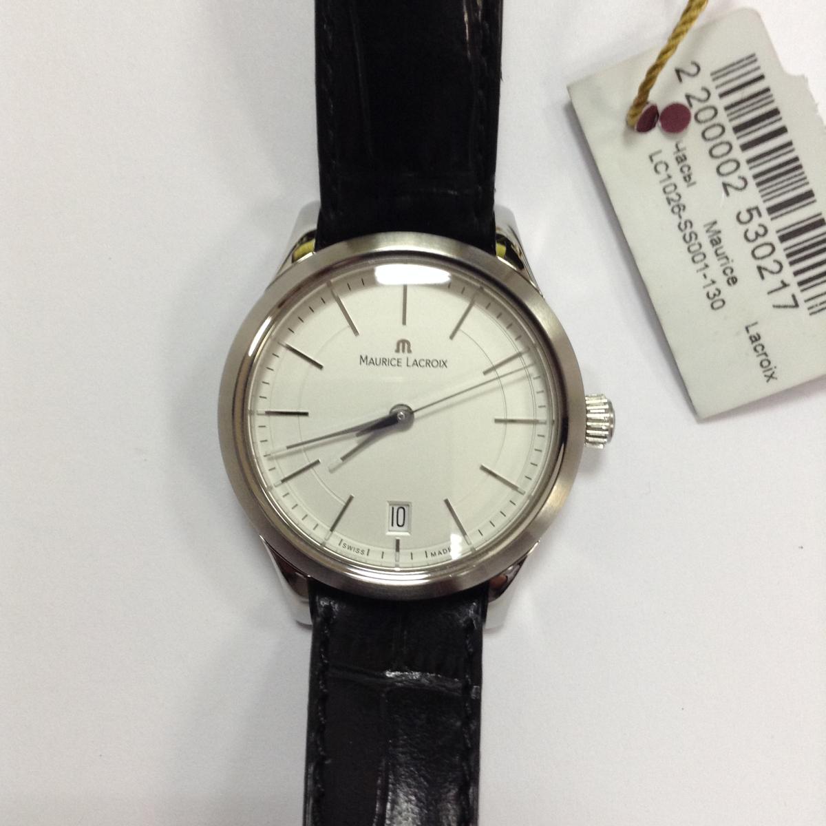 8641a1c0 Б/У часы Maurice Lacroix Les Classiques LC1026-SS001-130