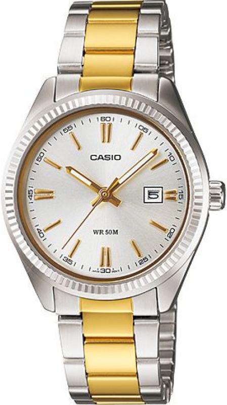 Купить Японские часы Casio LTP-1302PSG-7A
