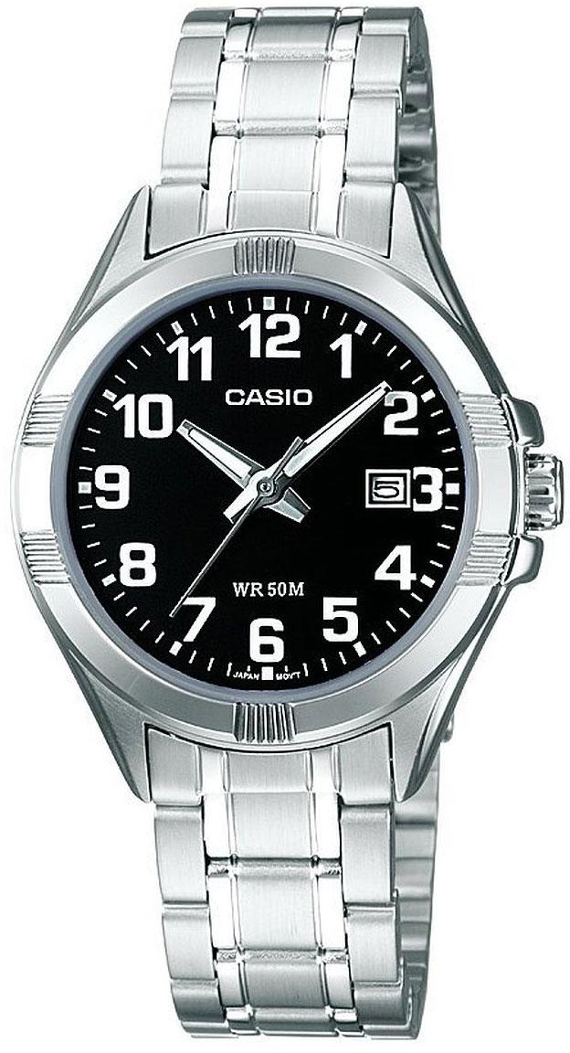 Купить Японские часы Casio LTP-1308PD-1B