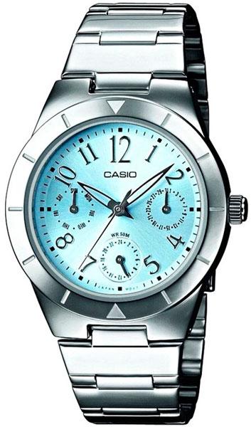 Купить Японские часы Casio LTP-2069D-2A2