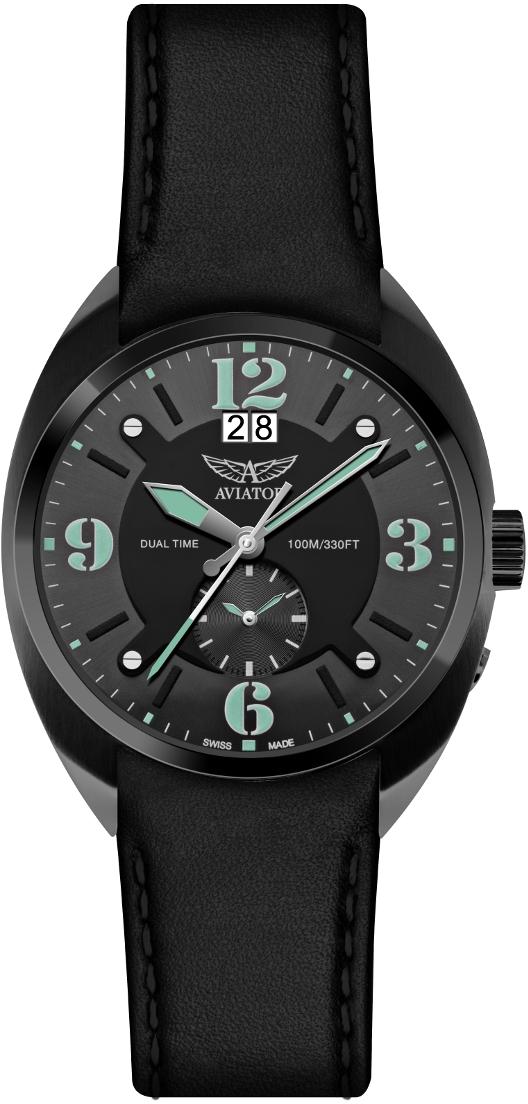 Aviator MIG-21 FISHBED M.1.14.5.084.4Наручные часы<br>Швейцарские часы Aviator MIG-21 FISHBED M.1.14.5.084.4<br><br>Пол: Мужские<br>Страна-производитель: Швейцария<br>Механизм: Кварцевый<br>Материал корпуса: Сталь<br>Материал ремня/браслета: Кожа<br>Водозащита, диапазон: 100 - 150 м<br>Стекло: Сапфировое<br>Толщина корпуса: 12 мм<br>Стиль: Классика