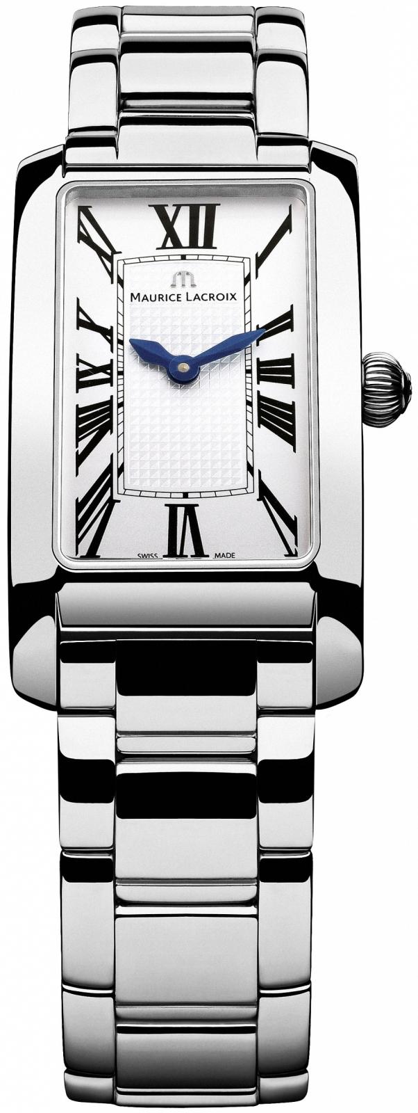 Maurice Lacroix Fiaba FA2164-SS002-115Наручные часы<br>Швейцарские часы Maurice Lacroix Fiaba FA2164-SS002-115<br><br>Для кого?: Женские<br>Страна-производитель: Швейцария<br>Механизм: Кварцевый<br>Материал корпуса: Сталь<br>Материал ремня/браслета: Сталь<br>Водозащита, диапазон: 20 - 100 м<br>Стекло: Сапфировое<br>Толщина корпуса: 8 мм<br>Стиль: Мода