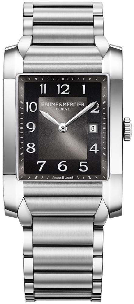 Baume&amp;Mercier Hampton MOA10021Наручные часы<br>Часы Baume&amp;amp;Mercier Hampton Lady MOA10021Модель входит в коллекцию Hampton Lady. Это стильные женские часы. Материал корпуса часов и браслета&amp;nbsp;&amp;mdash; сталь.&amp;nbsp;В этих часах используется сапфировое стекло. Водозащита этой модели 50 м.<br><br>Пол: None<br>Страна-производитель: Швейцария<br>Механизм: Кварцевый<br>Материал корпуса: Сталь<br>Материал ремня/браслета: Сталь<br>Водозащита, диапазон: 20 - 100 м<br>Стекло: Сапфировое<br>Толщина корпуса: 9,6 мм<br>Стиль: Классика