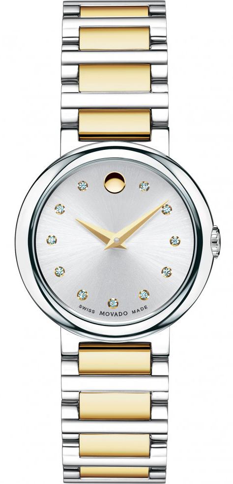 Movado Concerto 0606790Наручные часы<br>Швейцарские часы Movado Concerto 0606790<br><br>Пол: Женские<br>Страна-производитель: Швейцария<br>Механизм: Кварцевый<br>Материал корпуса: Сталь<br>Материал ремня/браслета: Сталь+золото<br>Водозащита, диапазон: 20 - 100 м<br>Стекло: Сапфировое<br>Толщина корпуса: None<br>Стиль: Классика