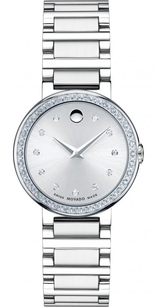 Movado Concerto 0606793Наручные часы<br>Швейцарские часы Movado Concerto 0606793<br><br>Пол: Женские<br>Страна-производитель: Швейцария<br>Механизм: Кварцевый<br>Материал корпуса: Сталь<br>Материал ремня/браслета: Сталь<br>Водозащита, диапазон: 20 - 100 м<br>Стекло: Сапфировое<br>Толщина корпуса: None<br>Стиль: Классика