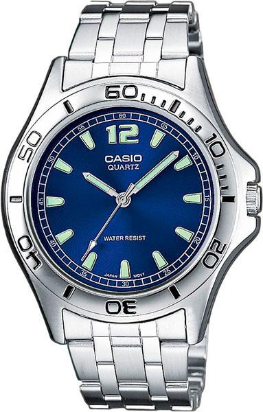 Купить Японские часы Casio MTP-1258PD-2A