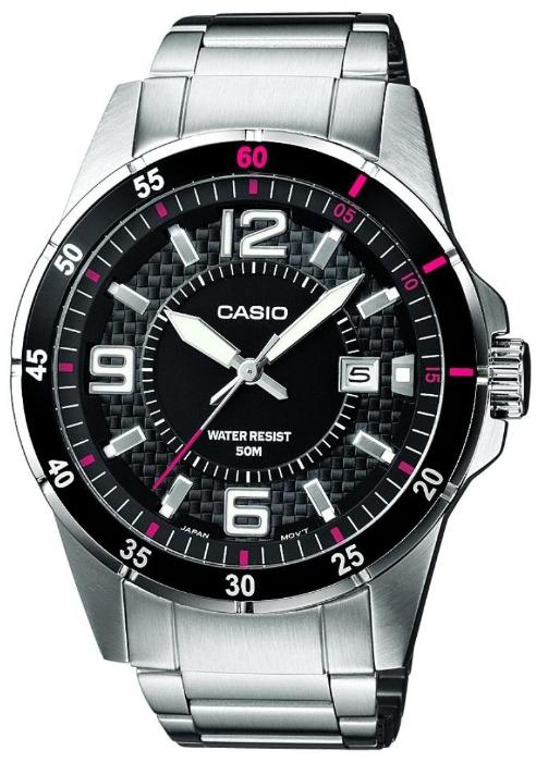 Японские часы Casio MTP-1291D-1A1  - купить со скидкой