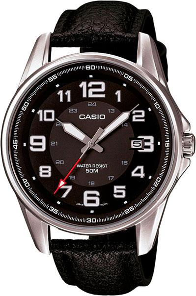 Купить Японские часы Casio MTP-1372L-1B
