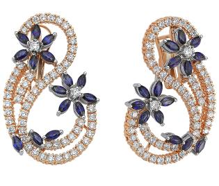 Серьги Mostar Jewellery OMR342-KP