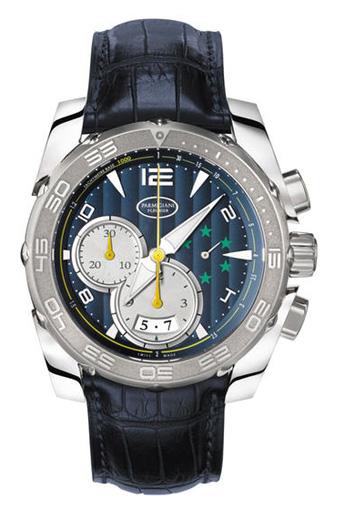 Parmigiani Tonda 1950 PFC528-3402500-XA3142Наручные часы<br>Швейцарские часы ParmigianiPershing PFC528-3402500-XA3142Представленная модель входит в коллекцию Pershing. Это настоящие мужские часы. Материал корпуса часов — титан. В этой модели стоит сапфировое стекло. Водозащита - 30 м.<br><br>Для кого?: Мужские<br>Страна-производитель: Швейцария<br>Механизм: Механический<br>Материал корпуса: Титан<br>Материал ремня/браслета: Кожа<br>Водозащита, диапазон: 20 - 100 м<br>Стекло: Сапфировое<br>Толщина корпуса/: <br>Стиль/: