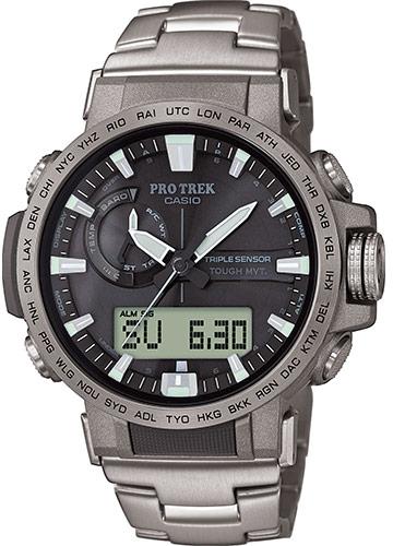 Купить Японские часы Casio Pro Trek PRW-60T-7AER, Casio Pro Trek PRW-60-2APRW-60T-7AER