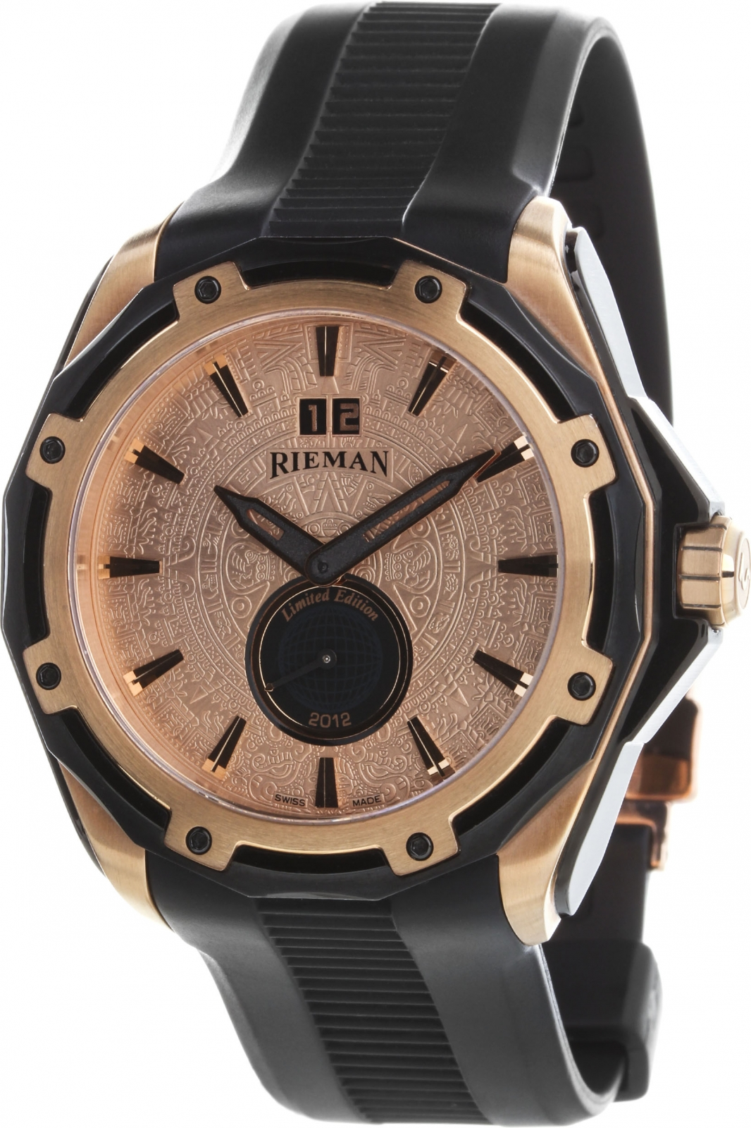 Rieman Outspace R4128.ESH.516Наручные часы<br>Швейцарские часы Rieman Outspace R4128.ESH.516Часы входят в модельный ряд коллекции Outspace. Это стильные мужские часы. Материал корпуса часов — сталь+золото. В этой модели стоит сапфировое стекло. Часы этой модели обладают водозащитой 100 м.<br><br>Для кого?: Мужские<br>Страна-производитель: Швейцария<br>Механизм: Кварцевый<br>Материал корпуса: Сталь+Золото<br>Материал ремня/браслета: Каучук<br>Водозащита, диапазон: 100 - 150 м<br>Стекло: Сапфировое<br>Толщина корпуса: None<br>Стиль: None