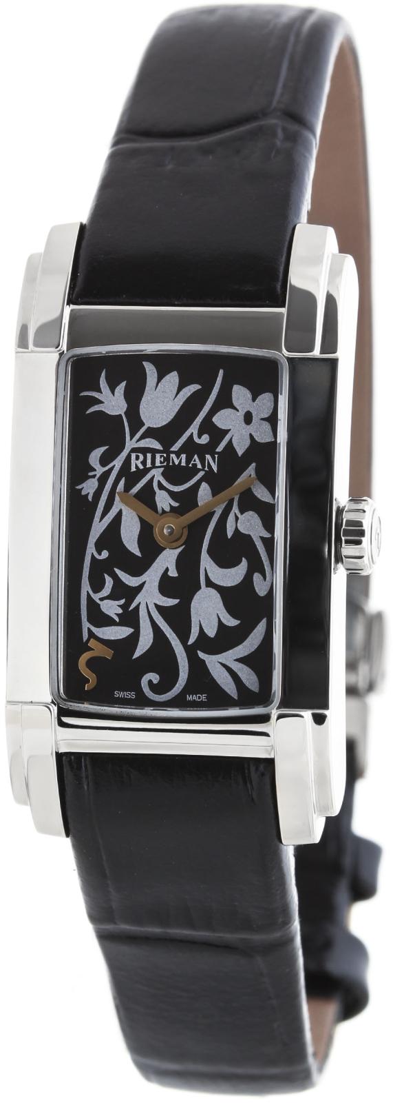 Rieman Integrale Ladies R6440.109.212Наручные часы<br>Швейцарские часы Rieman Integrale Ladies R6440.109.212Модель входит в коллекцию Integrale Ladies. Это модные женские часы. Материал корпуса часов — сталь. В этих часах используется сапфировое стекло. Водозащита этих часов 30 м. Основной цвет циферблата черный. Циферблат часов содержит часы, минуты. В этой модели используются такие усложнения как . Корпус часов в диаметре 21х41мм.<br><br>Пол: Женские<br>Страна-производитель: Швейцария<br>Механизм: Кварцевый<br>Материал корпуса: Сталь<br>Материал ремня/браслета: Кожа<br>Водозащита, диапазон: 20 - 100 м<br>Стекло: Сапфировое<br>Толщина корпуса: None<br>Стиль: Классика