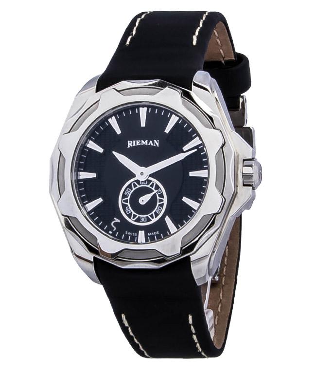 Rieman OutSpace R9140.134.412Наручные часы<br>Швейцарские часы Rieman OutSpace R9140.134.412Представленная модель входит в коллекцию OutSpace. Это модные женские часы. Материал корпуса часов — сталь. В этих часах используется сапфировое стекло. Водозащита этой модели 100 м. Основной цвет циферблата черный. Циферблат модели содержит часы, минуты, секунды. В этих часах используются такие усложнения как . Диаметр корпуса данной модели 36мм.<br><br>Для кого?: Женские<br>Страна-производитель: Швейцария<br>Механизм: Кварцевый<br>Материал корпуса: Сталь<br>Материал ремня/браслета: Текстиль<br>Водозащита, диапазон: 100 - 150 м<br>Стекло: Сапфировое<br>Толщина корпуса: None<br>Стиль: Спорт
