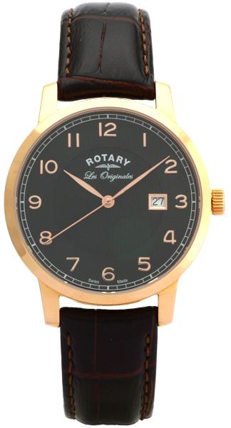 Rotary Les Originales GS90077/04Наручные часы<br>Швейцарские часы Rotary Les Originales GS90077/04<br><br>Для кого?: Мужские<br>Страна-производитель: Швейцария<br>Механизм: Кварцевый<br>Материал корпуса: Сталь<br>Материал ремня/браслета: Кожа<br>Водозащита, диапазон: 20 - 100 м<br>Стекло: Сапфировое<br>Толщина корпуса: None<br>Стиль: Классика