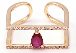 Кольцо La Marquise SCMR029396