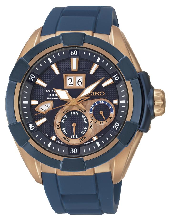 Seiko Velatura SNP120P1Наручные часы<br>Японские часы Seiko Velatura SNP120P1<br><br>Для кого?: Мужские<br>Страна-производитель: Япония<br>Механизм: Кинетик<br>Материал корпуса: Сталь<br>Материал ремня/браслета: Каучук<br>Водозащита, диапазон: 100 - 150 м<br>Стекло: Сапфировое<br>Толщина корпуса/: <br>Стиль: Спорт