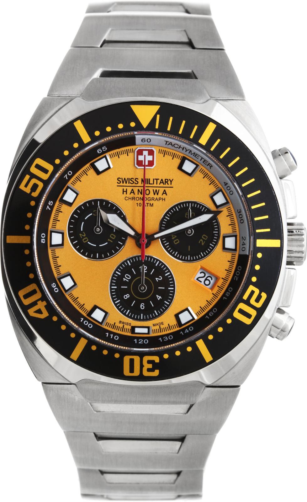 Hanowa Swiss Military Navy Master SM11322JSN.H17MAНаручные часы<br>Швейцарские часы Hanowa Swiss Military Navy Master SM11322JSN.H17MA<br><br>Пол: Мужские<br>Страна-производитель: Швейцария<br>Механизм: Кварцевый<br>Материал корпуса: Сталь<br>Материал ремня/браслета: Сталь<br>Водозащита, диапазон: 100 - 150 м<br>Стекло: Минеральное<br>Толщина корпуса: None<br>Стиль: Классика