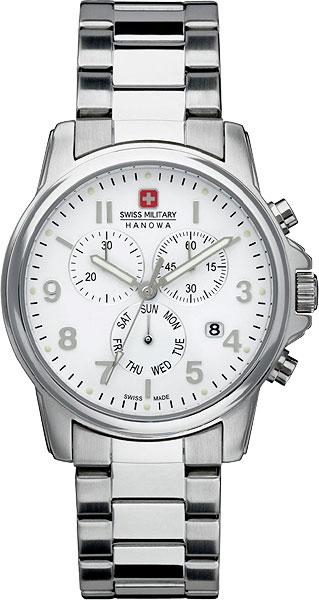 Hanowa Swiss Military Swiss Recruit SM12119MSN.H01MНаручные часы<br>Швейцарские часы Hanowa Swiss Military Swiss Recruit SM12119MSN.H01MЧасы принадежат коллекции Swiss Recruit. Это великолепные Мужские часы. Материал корпуса часов — Сталь. Браслет — Сталь. Циферблат часов защищает Минеральное стекло. Часы выдерживают давление на глубине 100 м.<br><br>Для кого?: Мужские<br>Страна-производитель: Швейцария<br>Механизм: Кварцевый<br>Материал корпуса: Сталь<br>Материал ремня/браслета: Сталь<br>Водозащита, диапазон: 100 - 150 м<br>Стекло: Минеральное<br>Толщина корпуса/: <br>Стиль/: