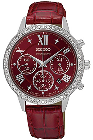 Seiko CS Dress SRW843P1Наручные часы<br>Японские часы Seiko CS Dress SRW843P1<br><br>Для кого?: Женские<br>Страна-производитель: Япония<br>Механизм: Кварцевый<br>Материал корпуса: Сталь<br>Материал ремня/браслета: Кожа<br>Водозащита, диапазон: 20 - 100 м<br>Стекло: Минеральное<br>Толщина корпуса: None<br>Стиль: Мода