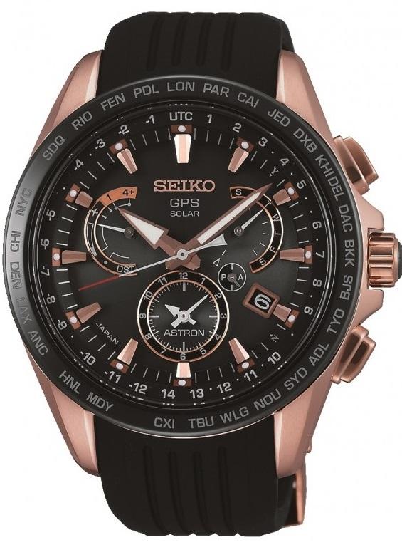 Seiko Astron SSE055J1Наручные часы<br>Японские часы Seiko Astron SSE055J1<br><br>Для кого?: Мужские<br>Страна-производитель: Япония<br>Механизм: Кварцевый<br>Материал корпуса: Сталь<br>Материал ремня/браслета: Каучук<br>Водозащита, диапазон: 20 - 100 м<br>Стекло: Сапфировое<br>Толщина корпуса: 13,3 мм<br>Стиль: Спорт