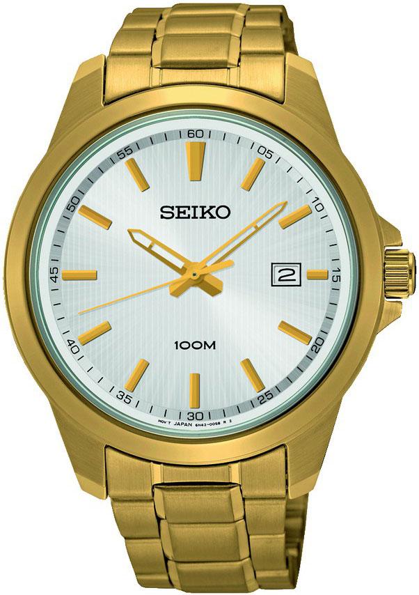 Seiko Promo SUR158P1Наручные часы<br>Японские часы Seiko Promo SUR158P1<br><br>Для кого?: Мужские<br>Страна-производитель: Япония<br>Механизм: Кварцевый<br>Материал корпуса: Сталь<br>Материал ремня/браслета: Сталь<br>Водозащита, диапазон: 20 - 100 м<br>Стекло: Минеральное<br>Толщина корпуса: 8 мм<br>Стиль: Классика