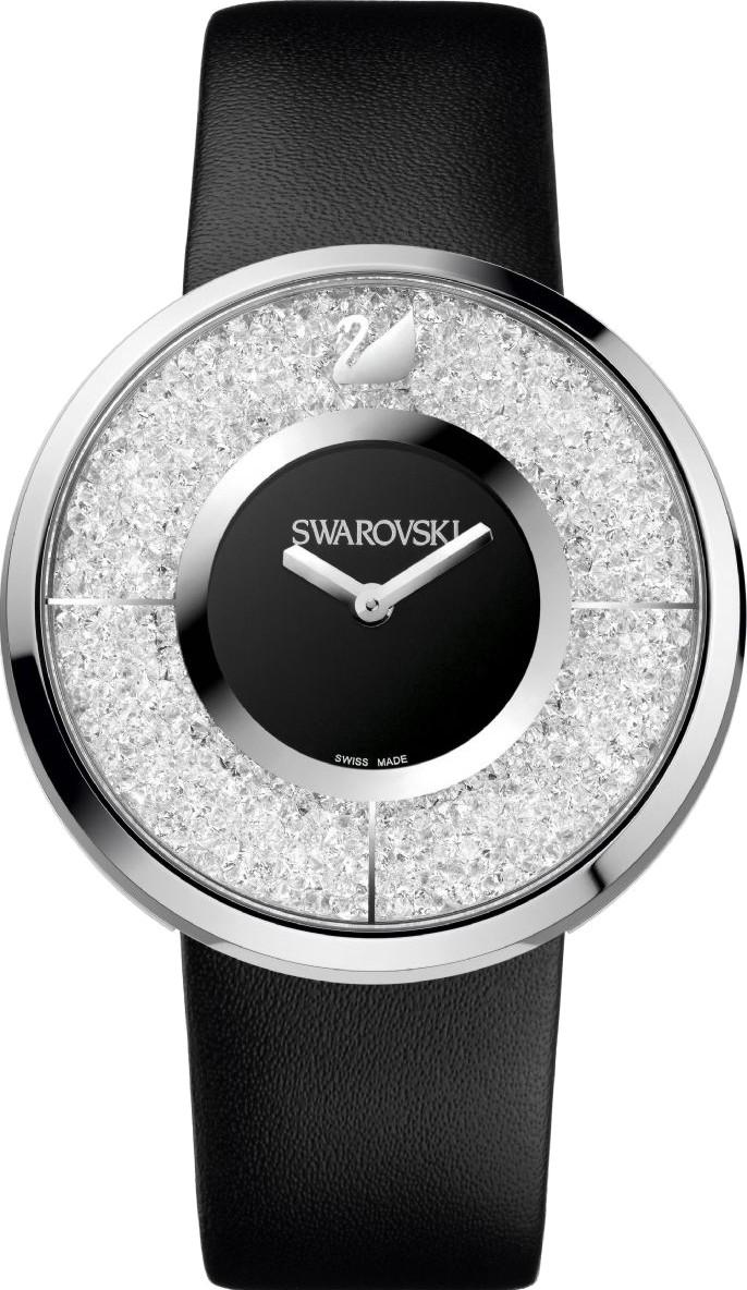 Купить Швейцарские часы Swarovski Crystalline Black 1135988