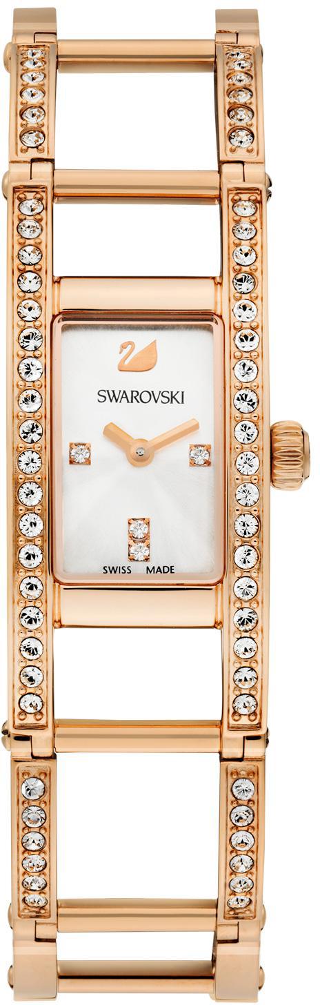 Купить Швейцарские часы Swarovski Indira Rose Gold Tone Bracelet 1186077