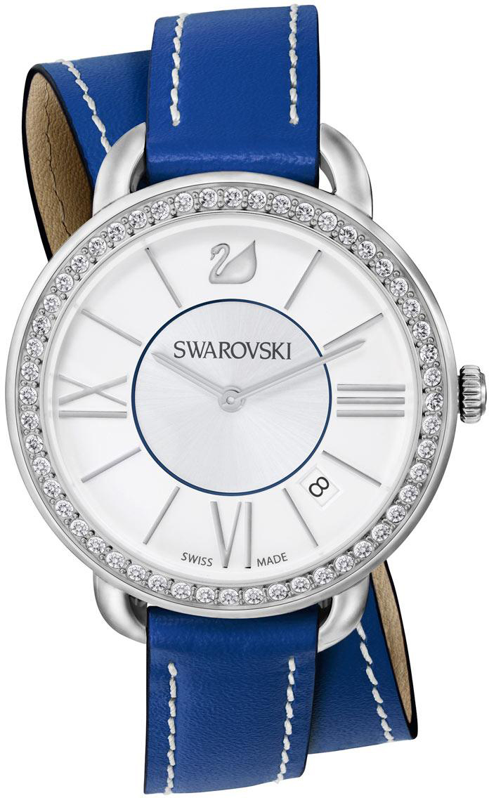 Купить Швейцарские часы Swarovski Aila Day Double Tour Blue 5095944, Swarovski Aila Day Double Tour Blue5095944
