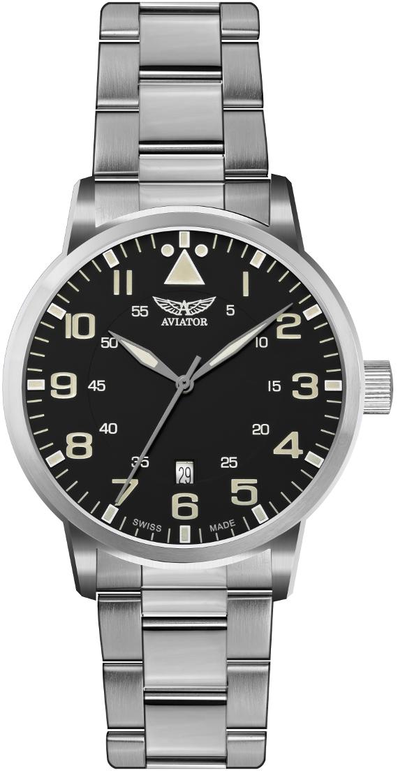 Aviator Airacobra V.1.11.0.037.5Наручные часы<br>Швейцарские часы Aviator Airacobra V.1.11.0.037.5Данная модель — яркий представитель коллекции Airacobra. Это Мужские часы. Материал корпуса часов — Сталь. Браслет — Сталь. В этой модели стоит Сапфировое стекло. Водозащита этих часов 100 м.<br><br>Пол: Мужские<br>Страна-производитель: Швейцария<br>Механизм: Кварцевый<br>Материал корпуса: Сталь<br>Материал ремня/браслета: Сталь<br>Водозащита, диапазон: 100 - 150 м<br>Стекло: Сапфировое<br>Толщина корпуса: None<br>Стиль: None