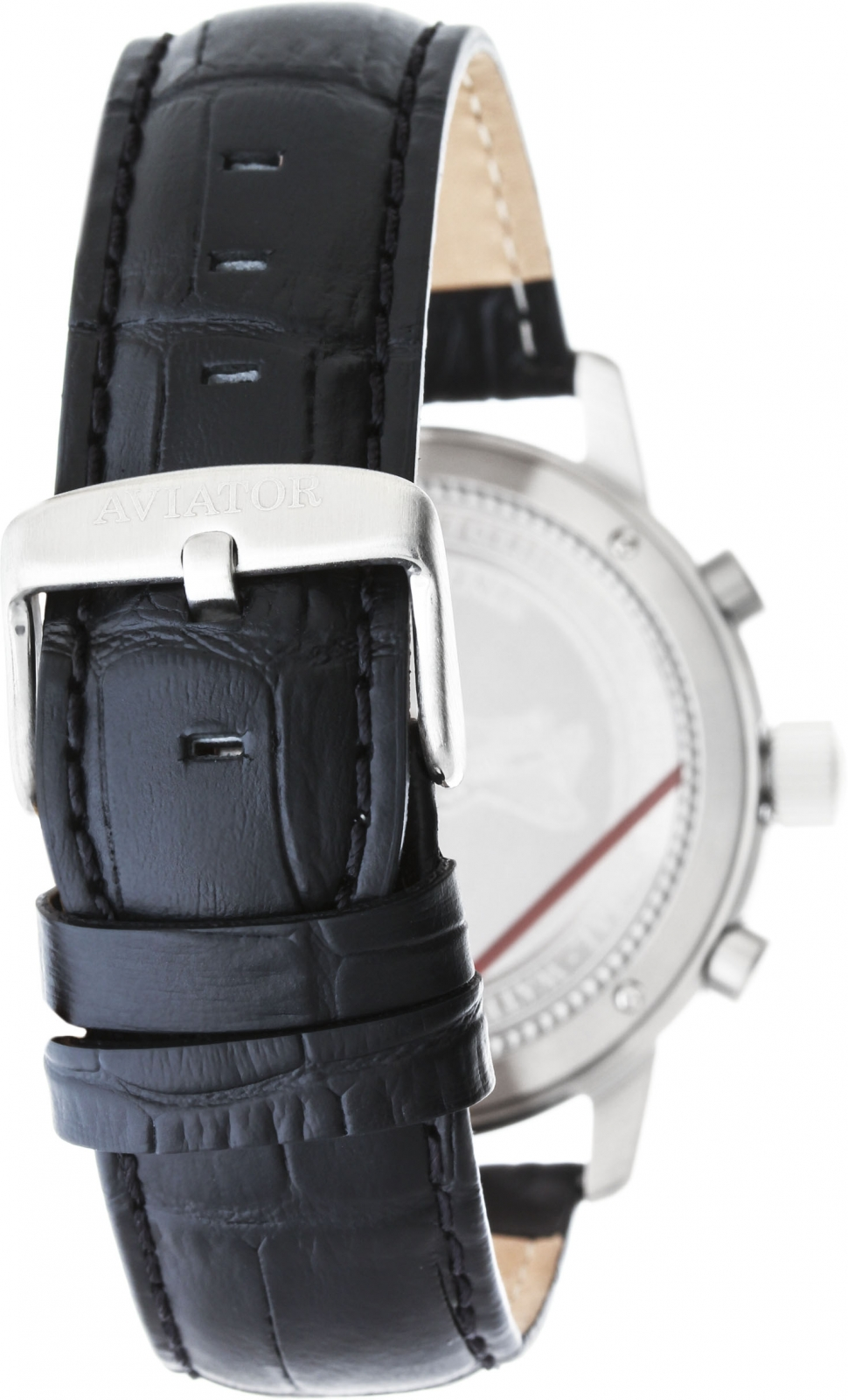 Aviator AIRACOBRA CHRONO V.2.13.0.075.4Наручные часы<br>Швейцарские часы Aviator AIRACOBRA CHRONO V.2.13.0.075.4<br><br>Пол: Мужские<br>Страна-производитель: Швейцария<br>Механизм: Кварцевый<br>Материал корпуса: Сталь<br>Материал ремня/браслета: Кожа<br>Водозащита, диапазон: 100 - 150 м<br>Стекло: Сапфировое<br>Толщина корпуса: 12 мм<br>Стиль: Классика