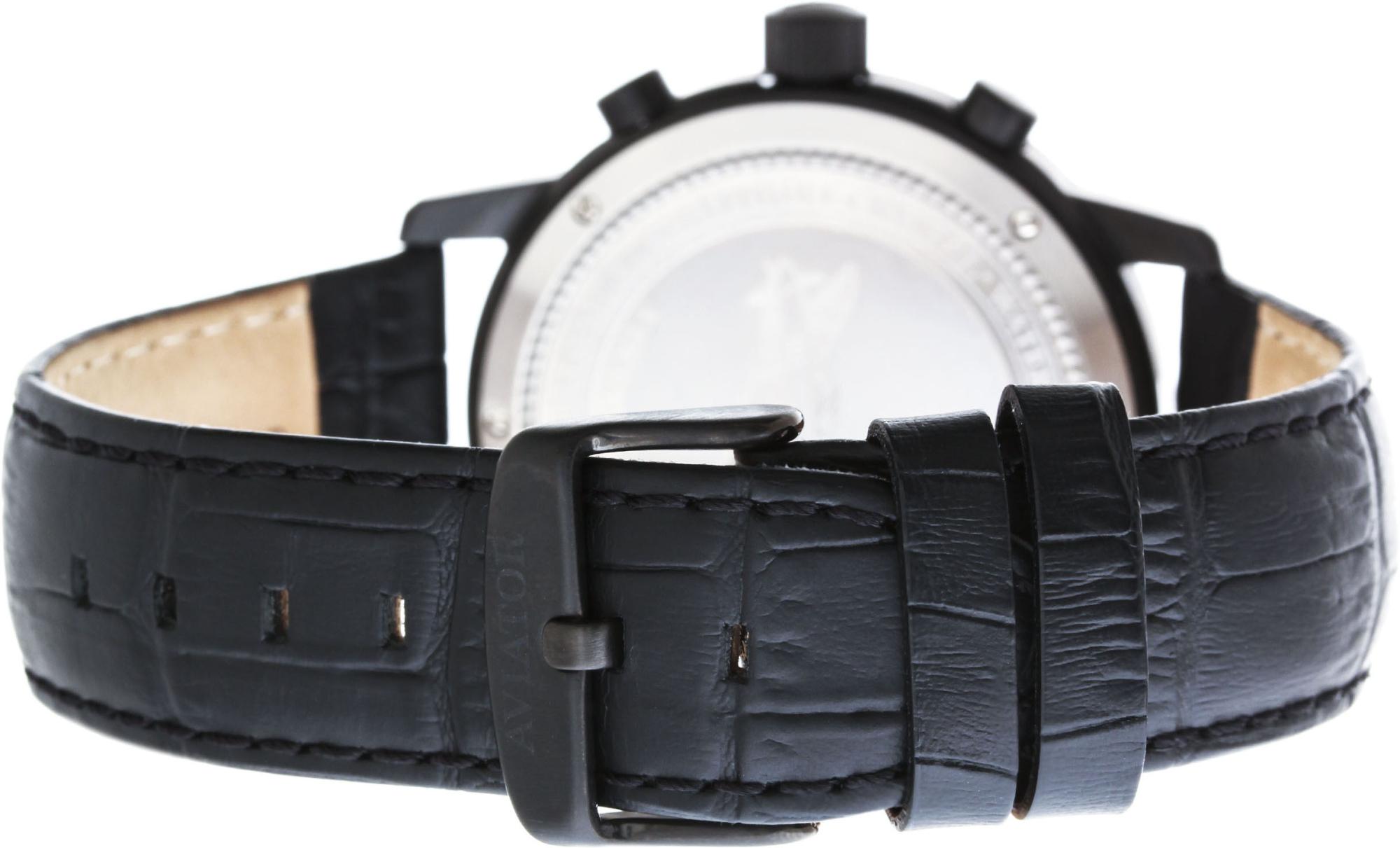 Aviator Airacobra V.2.13.5.077.4Наручные часы<br>Швейцарские часы Aviator Airacobra V.2.13.5.077.4Часы входят в модельный ряд коллекции Airacobra. Это Мужские часы. Материал корпуса часов — Сталь. Ремень — Кожа. В этих часах используется Сапфировое стекло. Водозащита - 100 м. Размер данной модели 45мм.<br><br>Пол: Мужские<br>Страна-производитель: Швейцария<br>Механизм: Кварцевый<br>Материал корпуса: Сталь<br>Материал ремня/браслета: Кожа<br>Водозащита, диапазон: 100 - 150 м<br>Стекло: Сапфировое<br>Толщина корпуса: None<br>Стиль: None