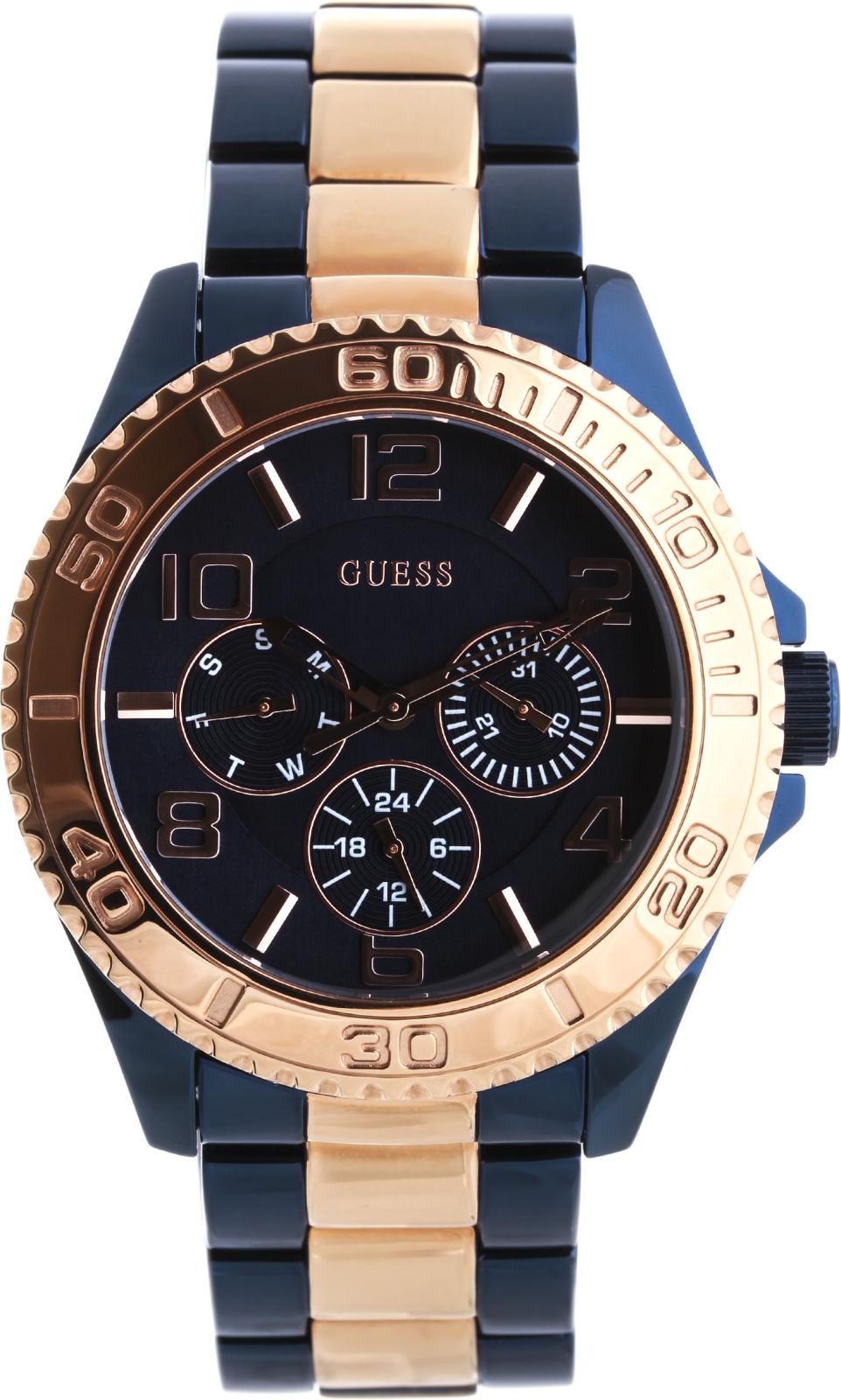 Guess BFF W0231L6Наручные часы<br>Американские часы Guess BFF W0231L6Представленная модель входит в коллекцию BFF. Это женские часы. Материал корпуса часов — сталь. В этих часах используется минеральное стекло. Водозащита - 50 м. Циферблат модели содержит часы, минуты, секунды. В этих часах используются такие усложнения как дата, день недели, . Диаметр корпуса 40мм.<br><br>Пол: Женские<br>Страна-производитель: США<br>Механизм: Кварцевый<br>Материал корпуса: Сталь<br>Материал ремня/браслета: Сталь<br>Водозащита, диапазон: 20 - 100 м<br>Стекло: Минеральное<br>Толщина корпуса: 12 мм<br>Стиль: Классика