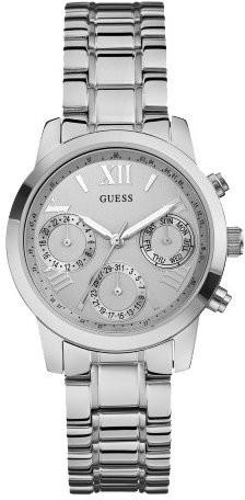 Guess Sport Steel  W0448L1Наручные часы<br>Американские часы Guess Sport Steel W0448L1<br><br>Пол: Женские<br>Страна-производитель: США<br>Механизм: Кварцевый<br>Материал корпуса: Сталь<br>Материал ремня/браслета: Сталь<br>Водозащита, диапазон: 20 - 100 м<br>Стекло: Минеральное<br>Толщина корпуса: 10.5 мм<br>Стиль: Классика