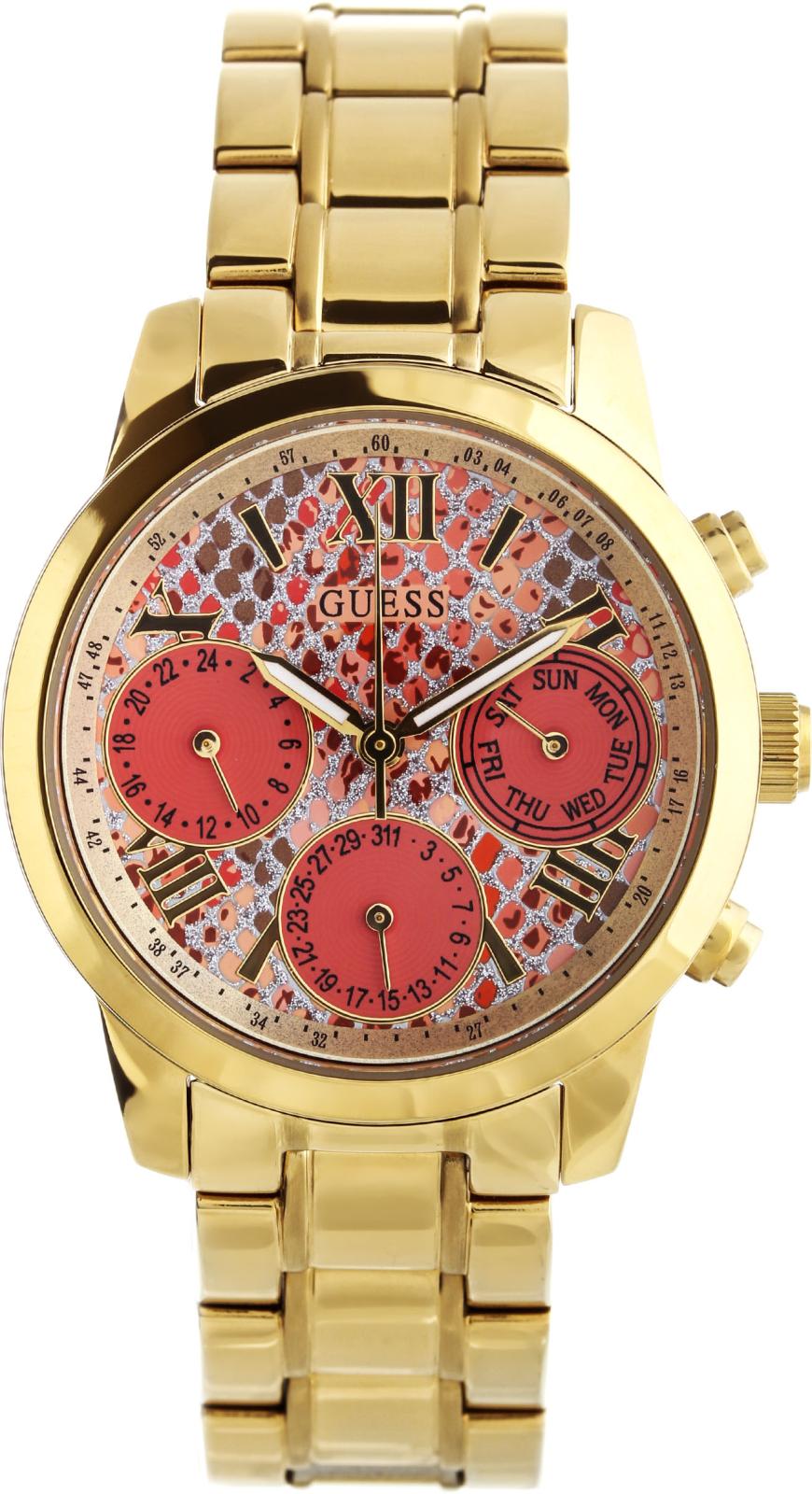 Guess Sport Steel  W0448L7Наручные часы<br>Американские часы Guess Sport Steel W0448L7<br><br>Пол: Женские<br>Страна-производитель: США<br>Механизм: Кварцевый<br>Материал корпуса: Сталь<br>Материал ремня/браслета: Сталь<br>Водозащита, диапазон: 20 - 100 м<br>Стекло: Минеральное<br>Толщина корпуса: 10.5 мм<br>Стиль: Классика