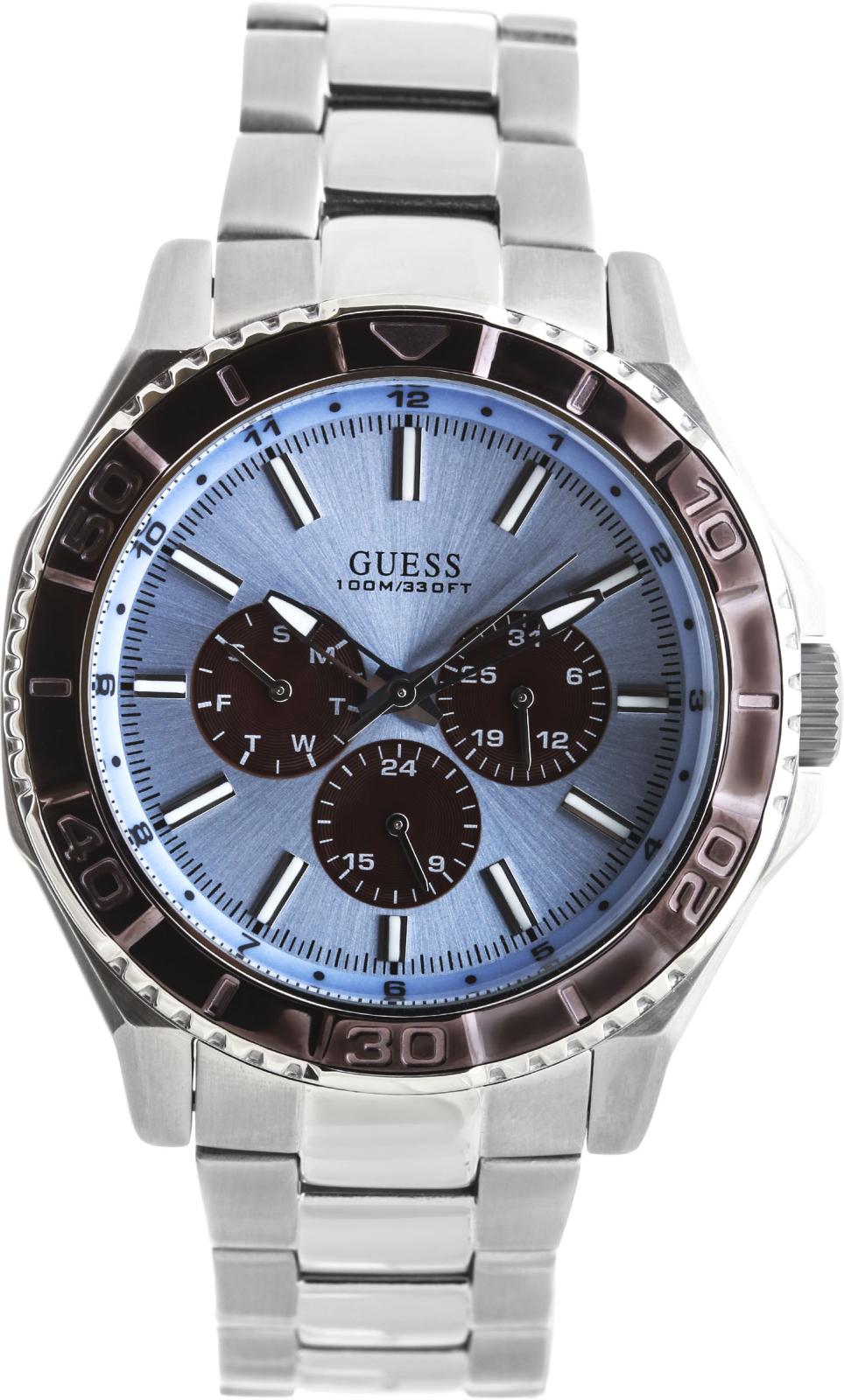 Guess Sport Steel  W0479G2Наручные часы<br>Американские часы Guess Sport Steel W0479G2<br><br>Пол: Мужские<br>Страна-производитель: США<br>Механизм: Кварцевый<br>Материал корпуса: Сталь<br>Материал ремня/браслета: Сталь<br>Водозащита, диапазон: 100 - 150 м<br>Стекло: Минеральное<br>Толщина корпуса: 13.5 мм<br>Стиль: Классика