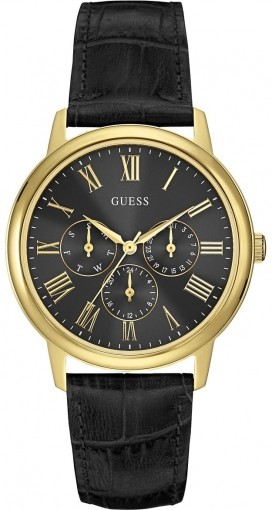 Guess Dress Steel Wafer Multifunction W0496G5