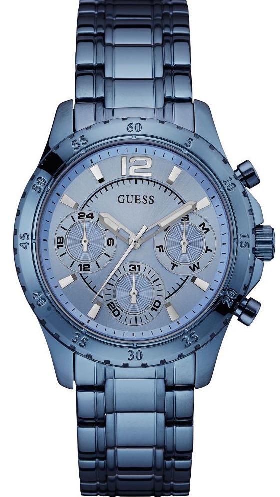 Guess Sport Steel W0704L2Наручные часы<br>Американские часы Guess Sport Steel W0704L2<br><br>Для кого?: Женские<br>Страна-производитель: США<br>Механизм: Кварцевый<br>Материал корпуса: Сталь + PVD<br>Материал ремня/браслета: Сталь + PVD<br>Водозащита, диапазон: 20 - 100 м<br>Стекло: Минеральное<br>Толщина корпуса: 12 мм<br>Стиль: Спорт