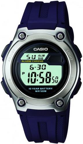 Купить Японские часы Casio W-211-2A