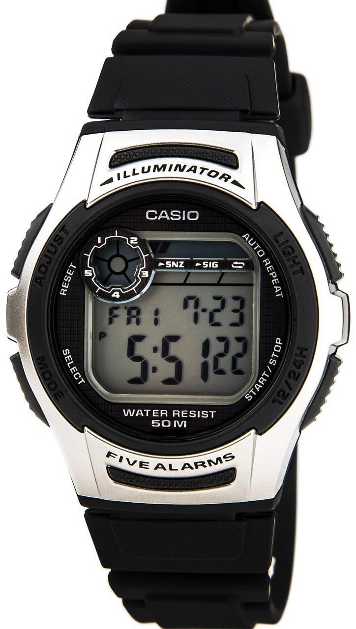Купить Японские часы Casio W-213-1A