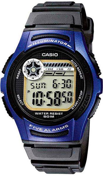 Купить Японские часы Casio W-213-2A