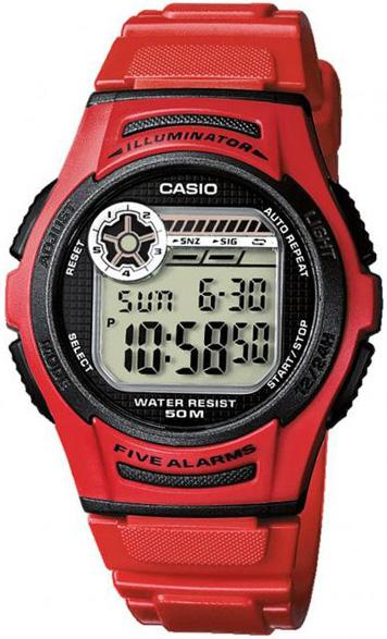 Купить Японские часы Casio W-213-4A