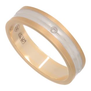 Кольцо NeoGold Wedding Ring W 44WY(f)D